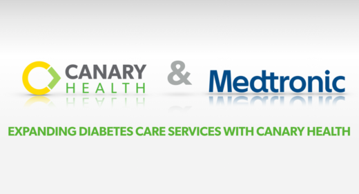 Medtronic is expanding their diabetes care offerings with Canary Health's chronic disease self-management programs.