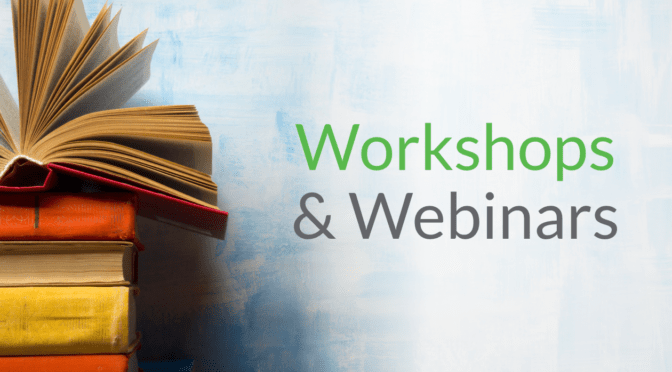 Storytelling Workshops and Webinars