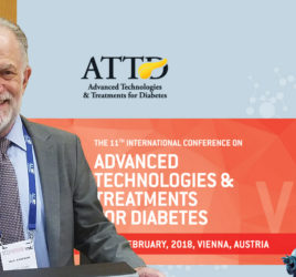 CMO Neal Kaufman at the podium at ATTD 2018